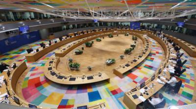 Reunión del Consejo Europeo, el 24 de mayo de 2021.European Union