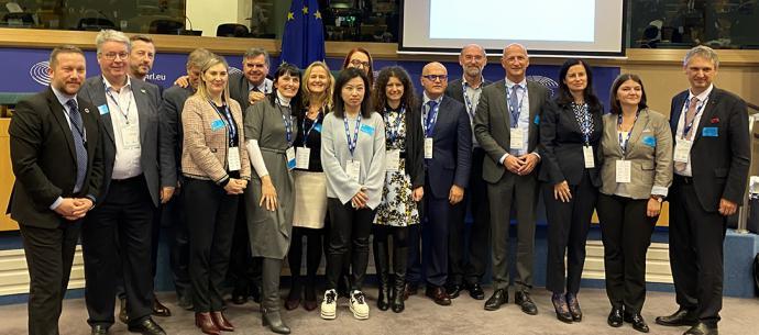 Termatalia en la Conferencia de la Industria del Turismo de Salud en el Parlamento Europeo