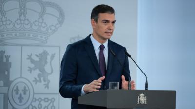 El presidente del Gobierno, Pedro Sánchez.Moncloa