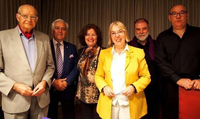 Teresa Pacheco presenta la Lectura poética en la Casa Castilla-La Mancha