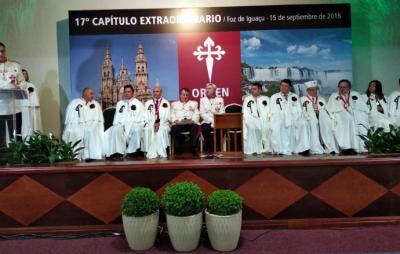 Los Caballeros de la Orden del Camino de Santiago se reunieron en Foz de Iguazú