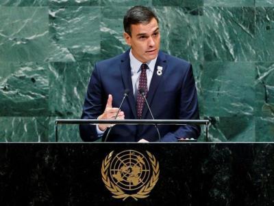 Sánchez reivindica en la ONU la exhumación de Franco: 'Cerramos un capítulo oscuro de nuestra historia'