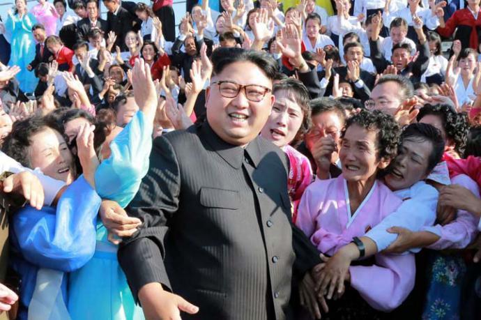 El líder de Corea del Norte Kim Jong Un