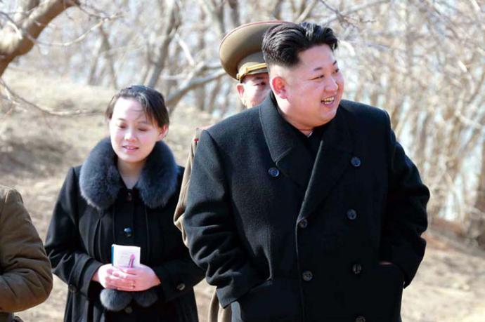 Kim Yo-Jong se convirtió en miembro suplente del buró político del comité central del Partido de los Trabajadores de Corea, la instancia ejecutiva presidida por su hermano.