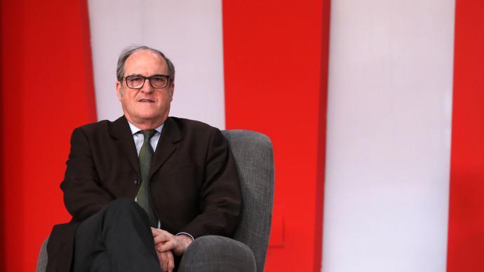 Ángel Gabilondo durante una entrevista en elDiario.es.