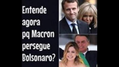 """""""¿Ahora entienden por qué Macron ataca aBolsonaro?"""""""