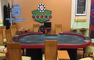 Desmantelan en Madrid un club clandestino para celebración de torneos ilegales de póker
