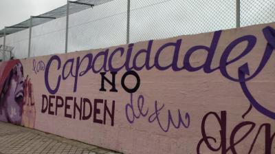Ciudadanos se enmienda a sí mismo y apoya mantener el mural feminista en Ciudad Lineal