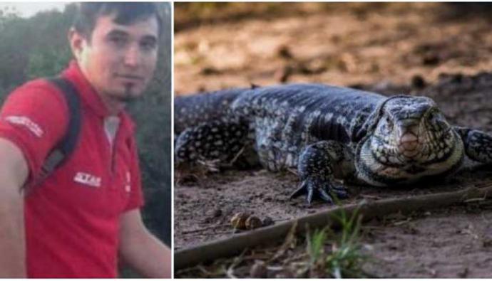 La multa que deberá pagar un ciudadano paraguayo que despellejó a un reptil vivo