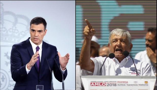 El presidente de México, Andrés Manuel López Obrador, solicitó al rey Felipe VI de España que pida perdón a los pueblos originarios por la conquista española.
