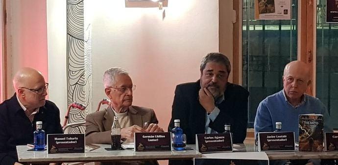 Manuel Toharia, Germán Ubillos, Carlos Aganzo y Javier Lostalé