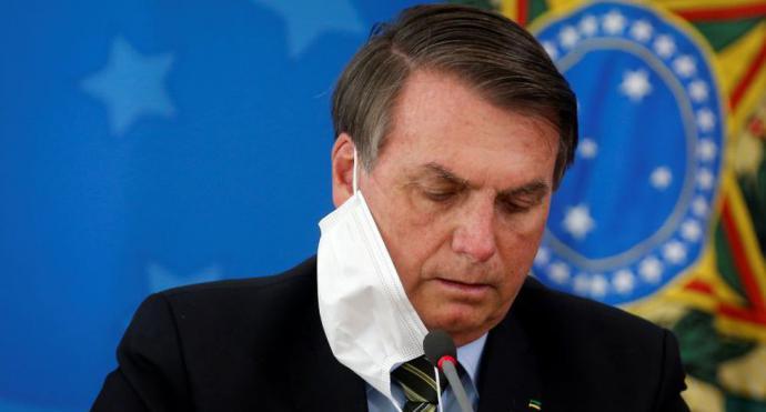 Jair Bolsonaro, el ultraderechista presidente  de Brasil