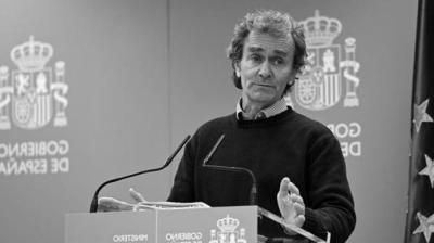 Fernando Simón, responsable del Centro de Coordinación de Alertas y Emergencias Sanitarias.