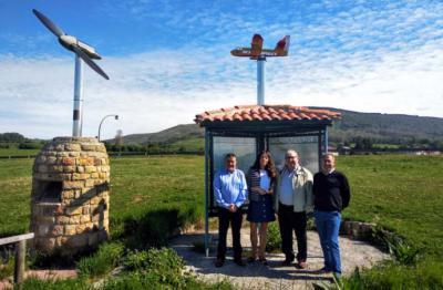La comarca de Campoo contó con 3 aeródromos durante la Guerra Civil