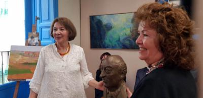 Homenaje a Luis Hernández del Pozo por la Asociación Madrileña de Críticos de Arte, AMCA