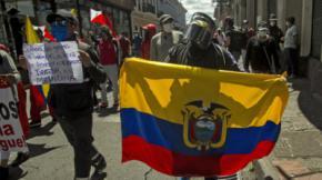 Violentas protestas en Ecuador por las medidas del gobierno en medio de la pandemia