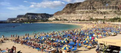 ¿Volveremos a ver así las playas canarias...?