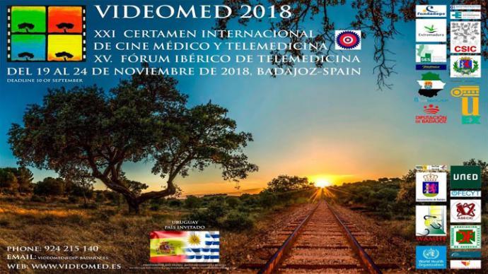 XXI Edición de VIDEOMED en Badajoz: Cine, Medicina y Tic's