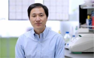 El genetista Jiankui He.Imagen tomada del video
