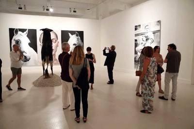 El Corazón Manda de Santiago Ydáñez recibe más de 28.000 visitas durante su exposición en el CAC Málaga