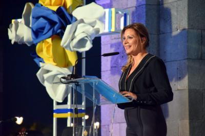 La periodista santacrucera María Rozman