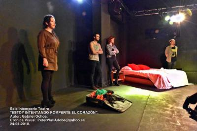 """""""Estoy intentando romperte el corazón"""", un vodevil en toda regla estrenado en el Teatro Intemperie"""