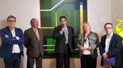 Medio centenar de artistas del Grupo pro Arte y Cultura exponen en el Palacio del Infantado de Guadalajara
