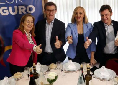 Feijóo en Vigo: 'Nunca le perdonaré a C`s y Vox dividir el voto del centroderecha'