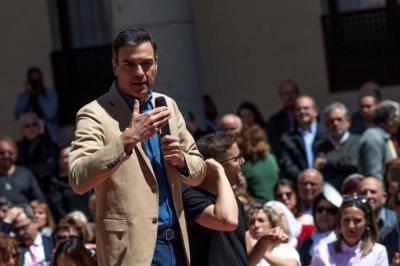 Sánchez reprocha a PP haber abrazado 'sin rubor' las falacias de Vox en vez de combatirlas con ideas y argumentos