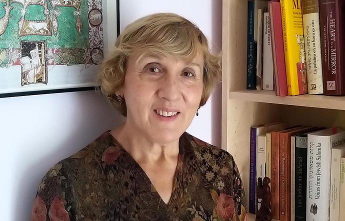 Paloma Díaz-Mas (Foto Carlos Mota).