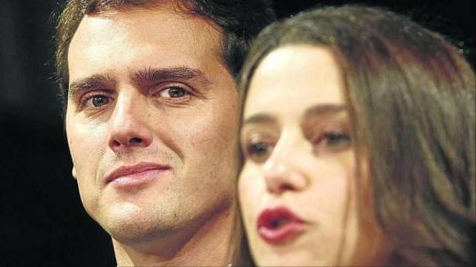 Albert Rivera e Inés Arrimadas, líderes de Ciudadanos.