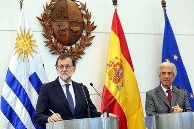Rueda de prensa de Mariano Rajoy y del presidente de Uruguay, Tabaré Vázquez