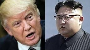Estados Unidos y Corea del Sur realizan su más grande maniobra militar conjunta. En la imagen, Donald Trump y Kim Jong-un
