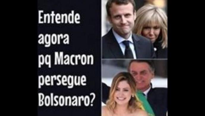 el ofensivo post en Facebook avalado por Bolsonaro