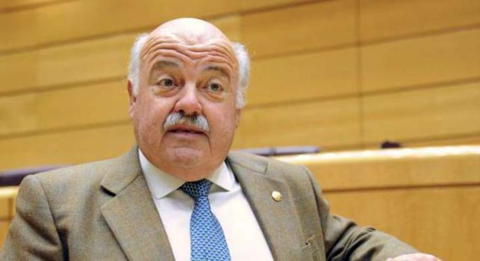 Jesús Aguirre (PP), consejero de Sanidad de la JJ.AA.