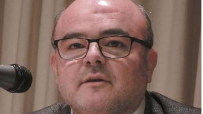 """Juan Antonio Moreno, autor del libro """"El crítico del Valle del Jarama"""""""
