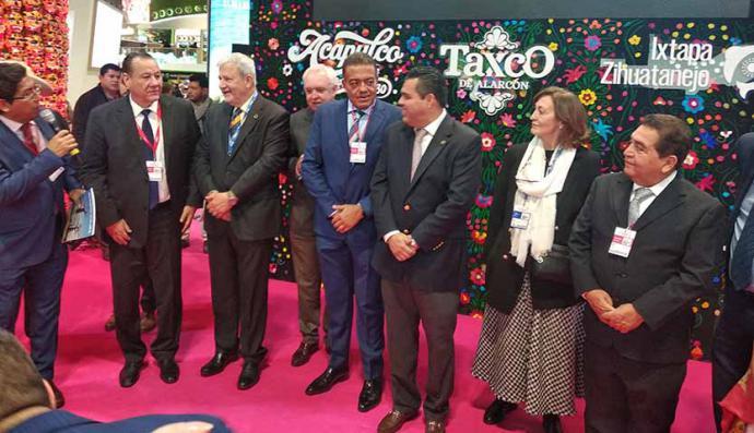 El Estado de Guerrero reconoce la labor de la Federación Española de Periodistas de Turismo