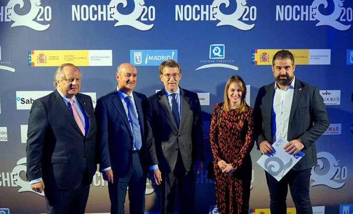 """El Instituto de Calidad Turística de España entregó los Premios """"Q"""" en Madrid"""