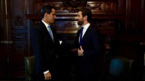 Casado pone las instituciones que gobierna el PP al servicio de Guaidó para confrontar con el Gobierno