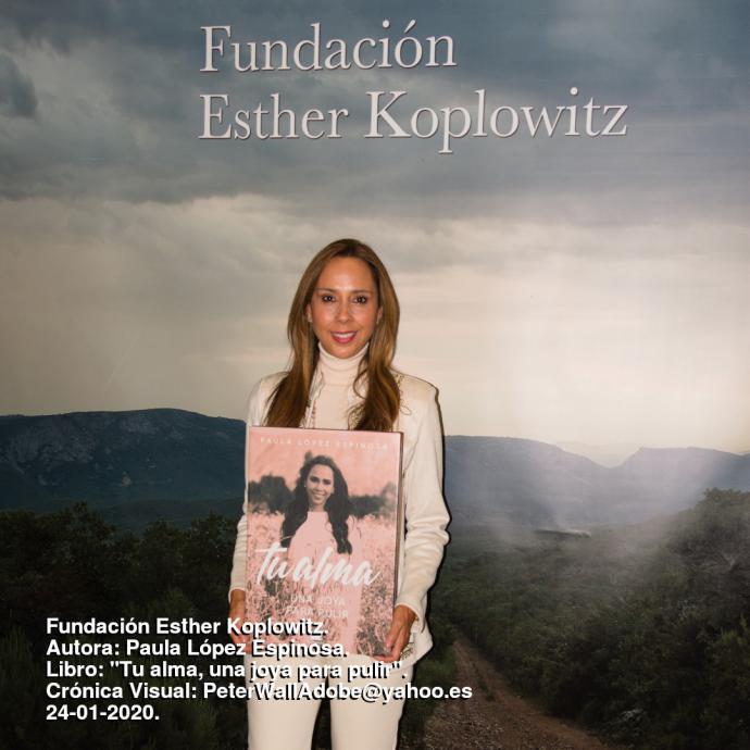 Paula López Espinosa, conferencia en la Fundación Esther Koplowitz
