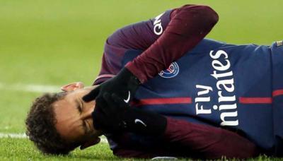 Neymar es duda para el duelo entre PSG y Real Madrid en la Champions League.