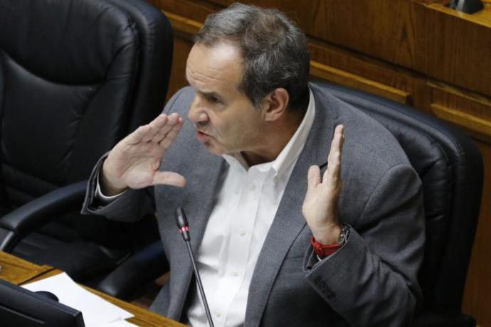 Andrés Allamand (Imagen de Agencia UNO / El Desconcierto)