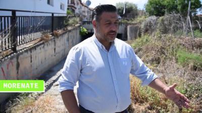 El portavoz de Vox en La Zubia, Rafael Morenate (Youtube)