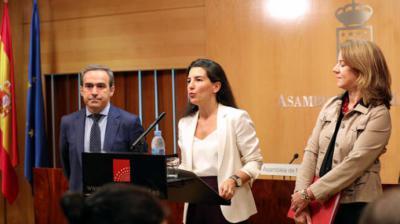 """Monasterio advierte a Cs de que no va a tolerar la """"injerencia extranjera"""" en la política de pactos"""