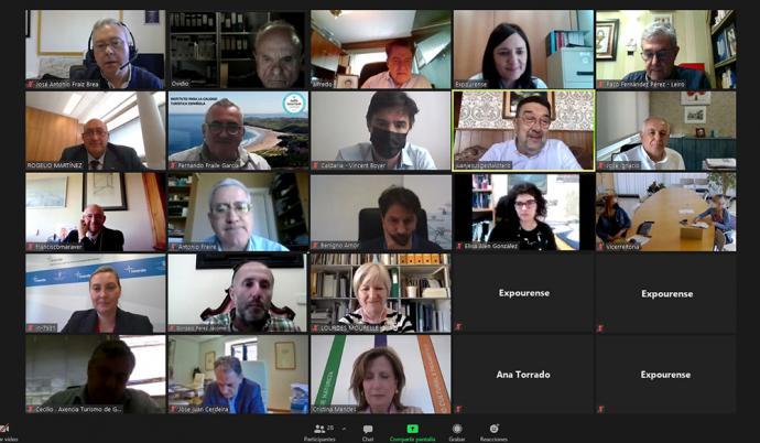 Ourense: Una veintena de expertos de España y Portugal perfilan las acciones profesionales vinculadas a Termatalia 2021