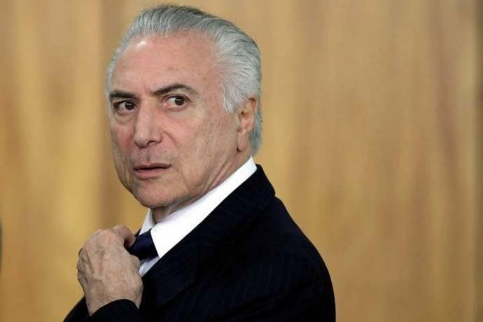 La fiscalía brasileña denuncia al presidente Michel Temer por corrupción