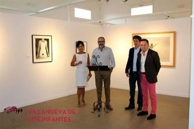 El actor Gabino Diego, presentó una magna exposición de fotografías