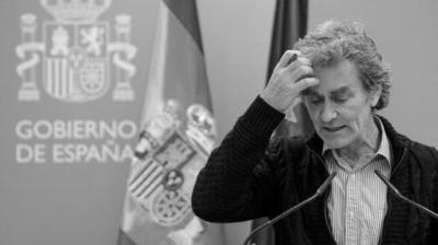 El responsable del Centro de Coordinación de Alertas y Emergencias Sanitarias, Fernando Simón.