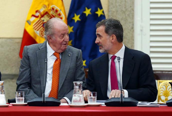 El rey Juan Carlos I deja la vida pública a los 5 años de abdicar