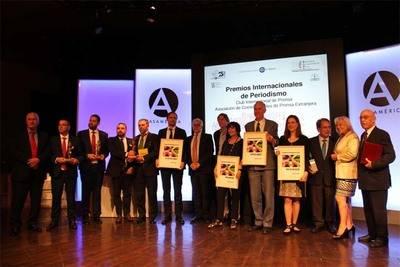 ACPI entregó a la Universidad Internacional de Andalucía, la Rábida, el Premio Cooperación 2016